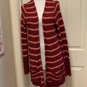 EUC Free People Beach Oversized Knit Cardigan, Med